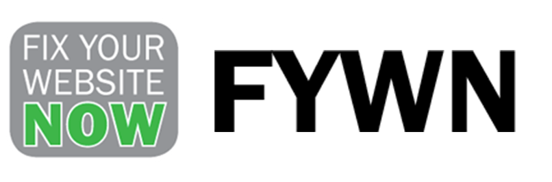 Fix Your Website Now Logo, Contact FYWN Us Today